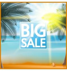 Summer sale Tourism Badge vector image