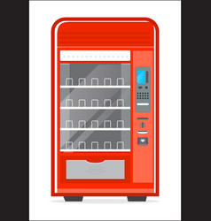 automatic vending machine icon vector image