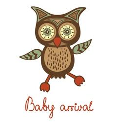 Baarrival funny owl vector
