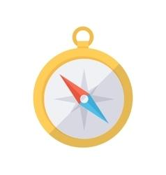 Compass color icon vector image