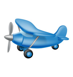 cute little plane vector image