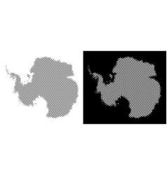 Halftone antarctica map vector