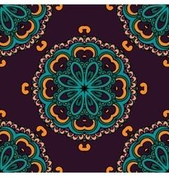 Luxury Damask seamless motif pattern vector