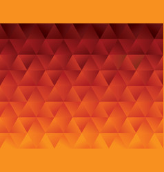 red hot abstract polygon geometric pattern vector image