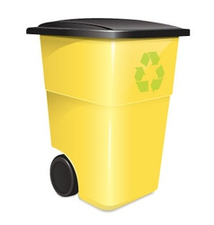 Garbage Container vector image vector image