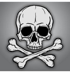 Skull and Crossbones vector image