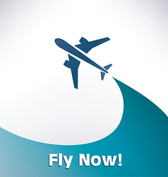 airplane14 5 1 vector image
