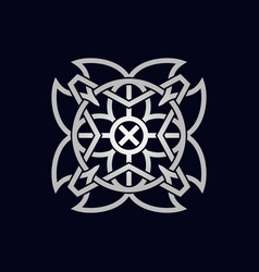 Abstact sacred symbol vector