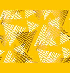 abstract summer yellow seamless pattern vector image