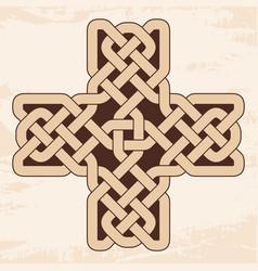 celtic national cross vector image