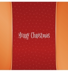 Christmas red Background with white Snowflakes vector image