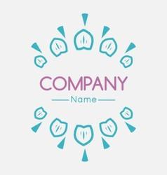 fashion and clothing logo company vector image