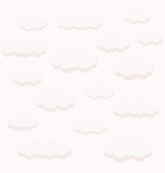 Iconclouds in the mist vector