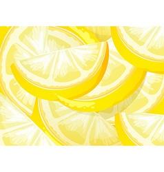 Lemon texture vector