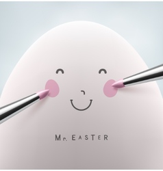 Mister Easter vector image
