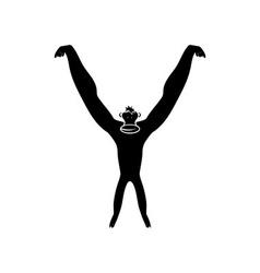 Monkey abstract vector