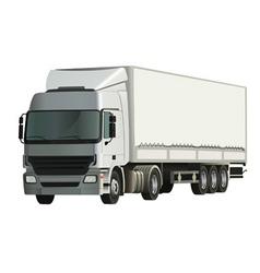 Semitrailer truck vector