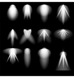Stage Spotlights Background vector image