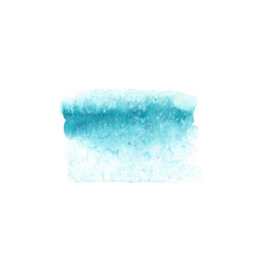 abstract watercolor blue texture isolated vector image vector image