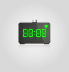 designer digital lcd alarm vector image
