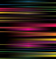 rainbow stripe ribbon vector image vector image