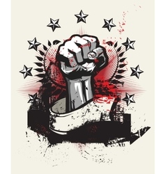 Revolution and protest vector image