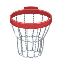 Basketball hoopbasketball single icon in cartoon vector