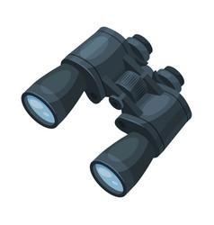 Binoculars optical device focus zoom spying vector