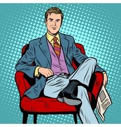 Boss businessman Director vector