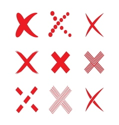 Confirm check marks icons2 vector