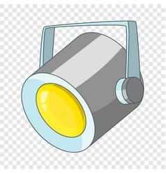floodlight icon cartoon style vector image