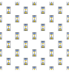 hourglass pattern seamless vector image