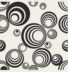 Round shapes repeating composition vector