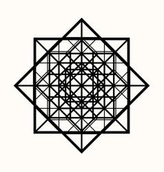 Sacred geometry 0082 vector