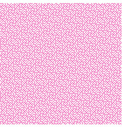 Seamless geometric chinese line pattern vector