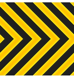 Yellow and black marking vector image