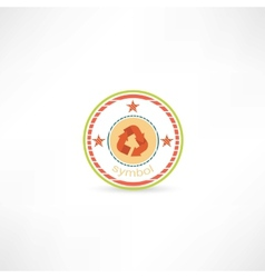 Cycle symbol icon vector image vector image