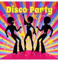 Disco party vector image