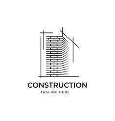 Construction logo design vector