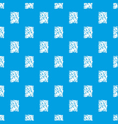 crumpled paper pattern seamless blue vector image