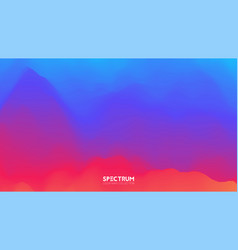 Fluid color blend spectrum background vector