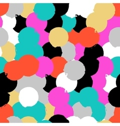 Pattern with big circles vector image
