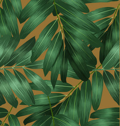 seamless foliage pattern6 vector image