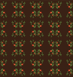 seamless patterns on brown background vector image