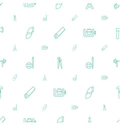 Steel icons pattern seamless white background vector