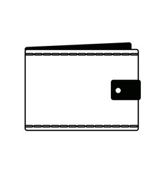 Wallet empty money business pocket icon vector