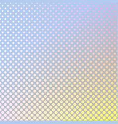 geometrical abstract gradient halftone dot vector image