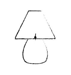 sketch lamp light electric decoration vector image