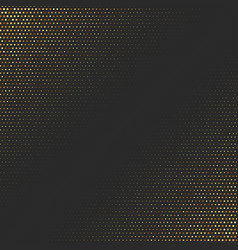 abstract golden background with halftone effect vector image