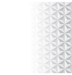 Abstract grey and white pattern vector